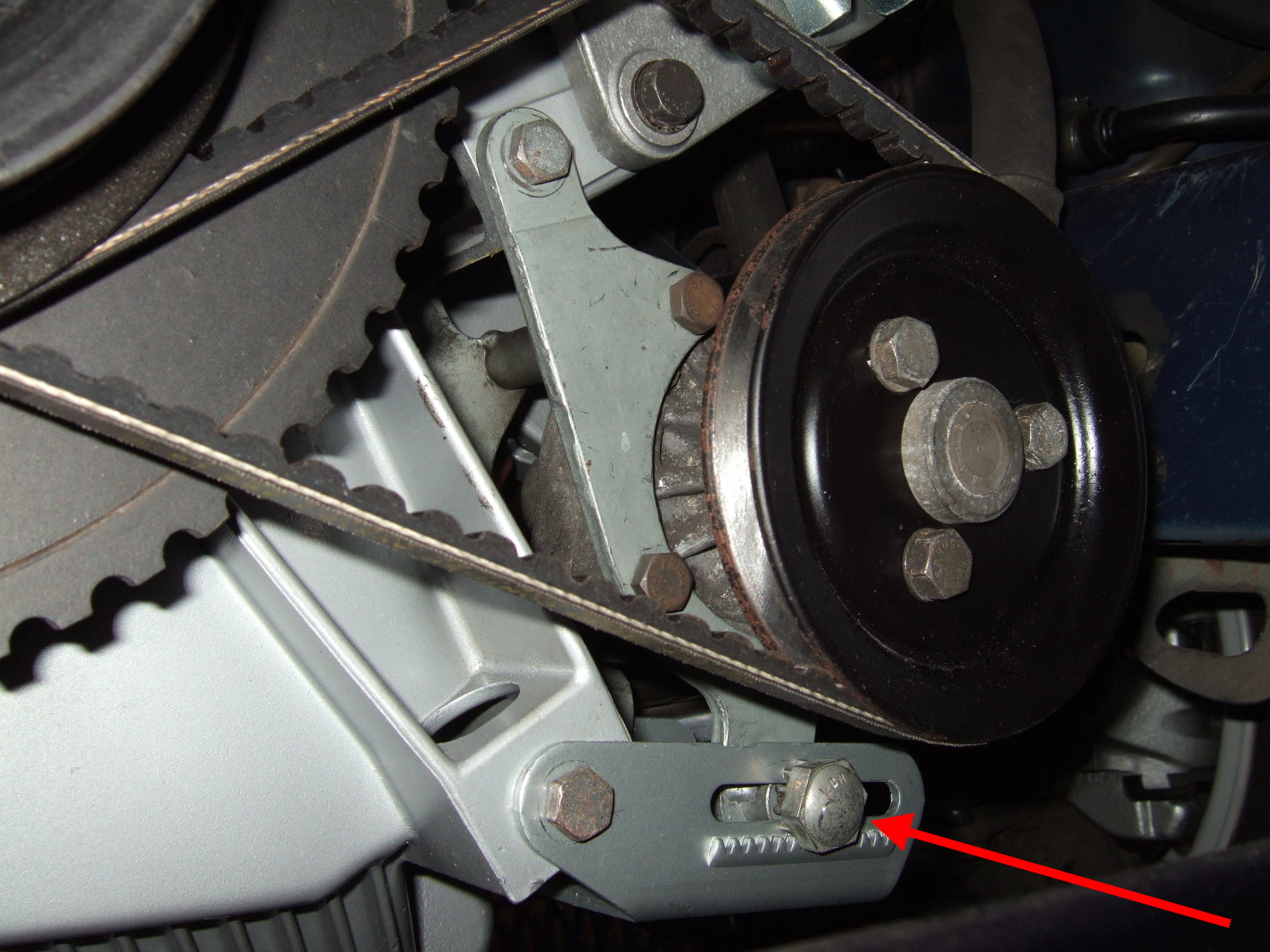 Removal Of Ac Belt Requires The Power Steering Pump Belt To Be Removed